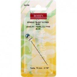 Рахункова булавка Jewelry Pin Blue Bohin 26190