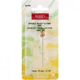 Счетная булавка Jewelry Pin Green Bohin 26189