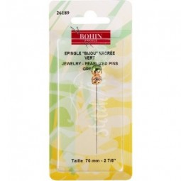Рахункова булавка Jewelry Pin Green Bohin 26189