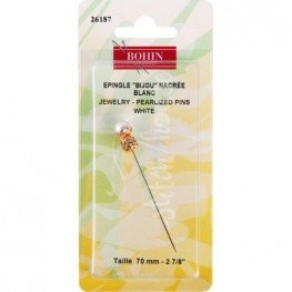 Рахункова булавка Jewelry Pin White Bohin 26187