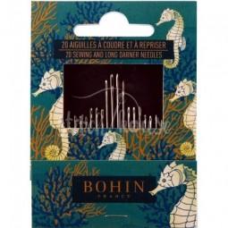 Набор игл для шитья (20 шт) Bohin 05602