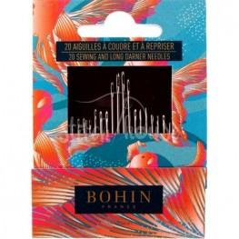 Набор игл для шитья (20 шт) Bohin 05601