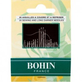 Набір голок для шиття (20 шт) Bohin 05599