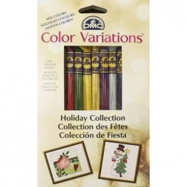 Мулине DMC Color Variations Floss Pack Holiday Collection