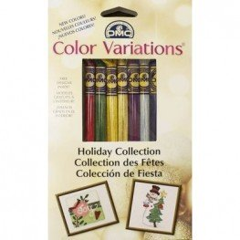 Муліне DMC Color Variations Floss Pack Holiday Collection