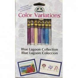 Мулине DMC Color Variations Floss Pack Blue Lagoon Collection