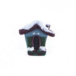 Пуговица Winter Birdhouse (зимний скворечник)