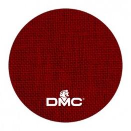 Ткань DMC 28 ct льняная ткань DM 432-306 (красный)