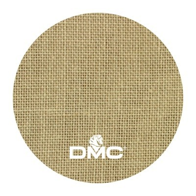 Ткань DMC 28 ct льняная ткань DM 432-739 (карамель)