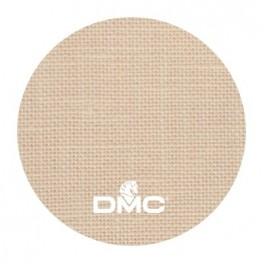 Тканина DMC 28 ct лляна DM 632-712 (пісочний
