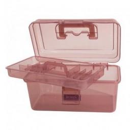 Коробка-органайзер S розовый Bohin 98787