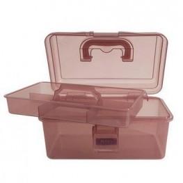 Коробка-органайзер M рожевий Bohin 98786