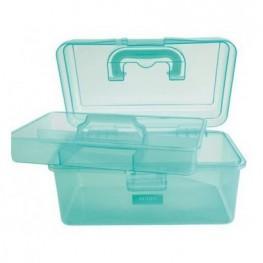 Коробка-органайзер M зелений Bohin 98785