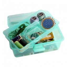 Коробка-органайзер M зеленый Bohin 98785