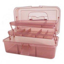Коробка-органайзер L рожевий Bohin 98783