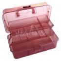 Коробка-органайзер L розовый Bohin 98783