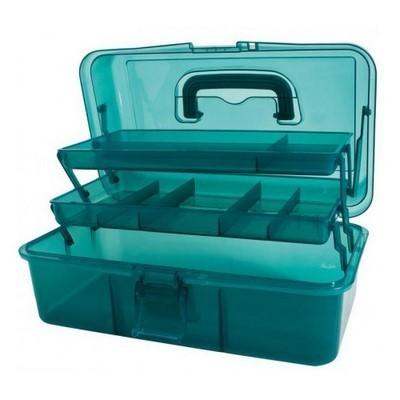 Коробка-органайзер L бирюза Bohin 98782