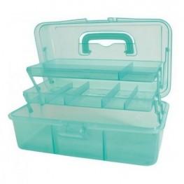 Коробка-органайзер L зеленый Bohin 98781
