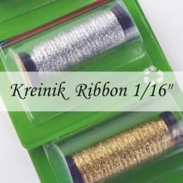 Металлизированные нити Kreinik 1/16 Ribbon