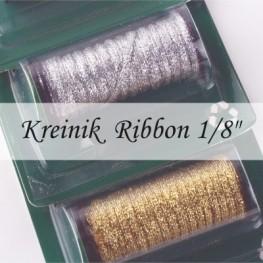 """Металлизированные нити Kreinik 1/8"""" Ribbon"""