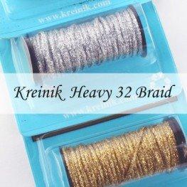 Металлизированные нити Kreinik Heavy #32 Braid
