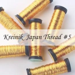 Металлизированные нити Kreinik Japan Thread 5
