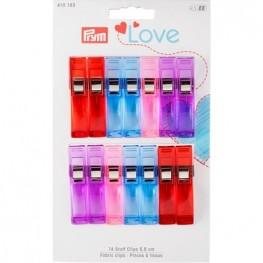 Зажимы для ткани Prym Love 610183