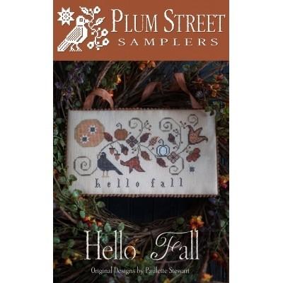 Схема Hello Fall Plum Street Samplers