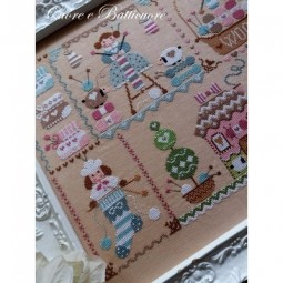 Схема Knitting In Quilt Cuore e Batticuore