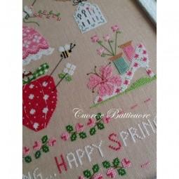 Схема Primavera Ricamata Cuore e Batticuore