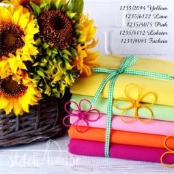 Linda 27 ct Zweigart Yellow (желтый) 1235/2094