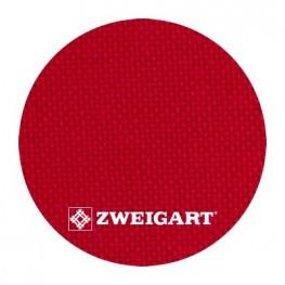 Linda 27 ct Zweigart Christmas Red (рождественский красный) 1235/954