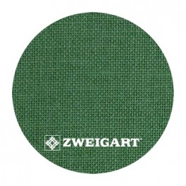 Cashel 28 ct Zweigart Grass Green (трав'янисто-зелений) 3281/6130