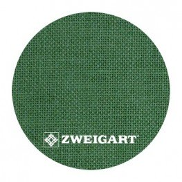 Cashel 28 ct Zweigart Grass Green (травянисто-зеленый) 3281/6130