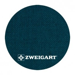 Cashel 28 ct Zweigart Teal/Petrol (колір морської хвилі) 3281/5153