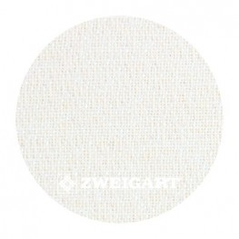 Cashel 28 ct Zweigart White Opalescent (белый с люрексом) 3281/1111