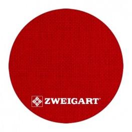 Cashel 28 ct Zweigart Christmas Red (рождественский красный) 3281/954