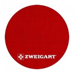 Cashel 28 ct Zweigart Christmas Red (різдвяний червоний) 3281/954