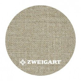 Cashel 28 ct Zweigart Raw Linen (цвет сырого льна) 3281/53