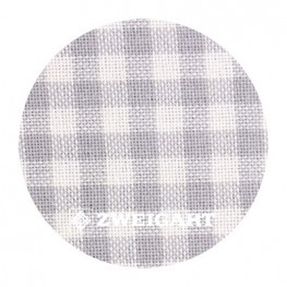 Murano 32 ct Zweigart Checkered Grey/White (в серо-белую клетку) 7663/7249