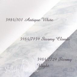 Murano 32 ct Zweigart Vintage Gray/Stormy Night (серый неоднотонный) 3984/7729
