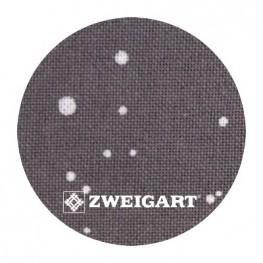 Murano 32 ct Zweigart Basalt/White Splash (базальтовий) 3984/7419