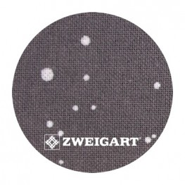 Murano 32 ct Zweigart Basalt/White Splash (базальтовый с белыми брызгами) 3984/7419