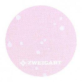 Murano 32 ct Zweigart Powder Pink/White Splash (розовый с белыми брызгами) 3984/4259