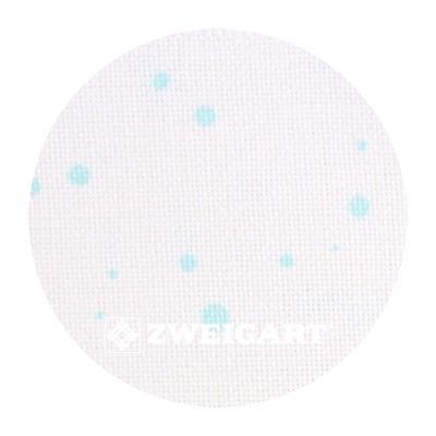 Murano 32 ct Zweigart Antique White/Mint Splash (молочныйс мятными брызгами) 3984/1299