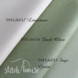 Murano 32 ct Zweigart Sage Green (шавлієвий) 3984/6083
