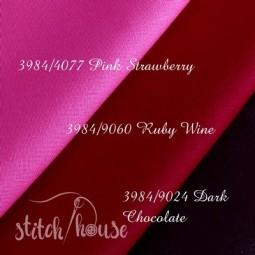 Murano 32 ct Zweigart Pink Strawberry/French Rose (розовая клубника) 3984/4077