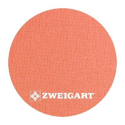 Murano 32 ct Zweigart Tangerine (мандариновый) 3984/4076
