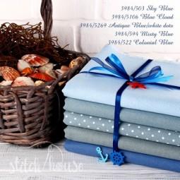 Murano 32 ct Zweigart Misty Blue/Antique Blue (туманно-синий) 3984/594