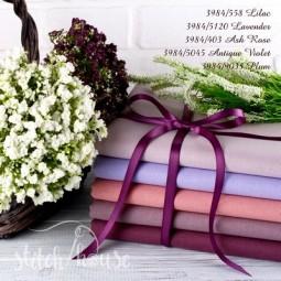 Murano 32 ct Zweigart Lilac (сиреневый) 3984/558